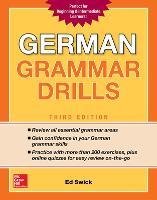 German Grammar Drills, Third Edition (Paperback)
