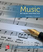 Music in Theory and Practice Volume 2 (Paperback)