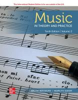 ISE Music in Theory and Practice Volume 2 (Paperback)