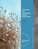 Elementary and Intermediate Algebra: Algebra Within Reach, International Edition (Paperback)