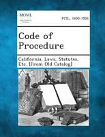 Code of Procedure (Paperback)
