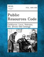 Public Resources Code (Paperback)
