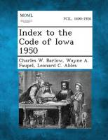 Index to the Code of Iowa 1950 (Paperback)