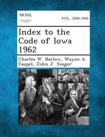 Index to the Code of Iowa 1962 (Paperback)