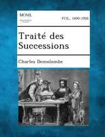 Traite Des Successions (Paperback)