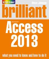 Brilliant Access 2013 - Brilliant Computing (Paperback)