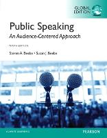 Beebe: Public Speaking: An Audience-Centered Approach, Global Edition (Paperback)