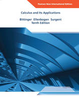Calculus and Its Applications (Paperback)