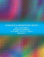 How English Works: Pearson New International Edition: A Linguistic Introduction (Paperback)