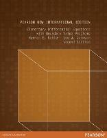 Elementary Differential Equations with Boundary Value Problems: Pearson New International Edition (Paperback)