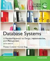Database Systems: A Practical Approach to Design, Implementation, and Management, Global Edition (Paperback)