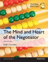 The Mind and Heart of the Negotiator, Global Edition (Paperback)