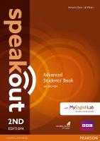Speakout Advanced 2nd Edition Students' Book for DVD-ROM and MyEnglishLab Pack - speakout (Paperback)