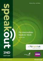 Speakout Pre-Intermediate 2nd Edition Students' Book for DVD-ROM and MyEnglishLab Pack - speakout (Paperback)