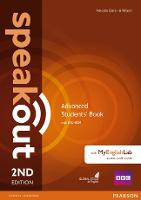 Speakout Advanced 2nd Edition Students' Book with DVD-ROM and MyEnglishLab Access Code Pack - speakout