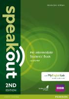 Speakout Pre-Intermediate 2nd Edition Students' Book with DVD-ROM and MyEnglishLab Access Code Pack - speakout