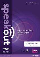 Speakout Upper Intermediate 2nd Edition Students' Book with DVD-ROM and MyEnglishLab Access Code Pack - speakout