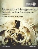 Operations Management: Sustainability and Supply Chain Management, Global Edition (Paperback)