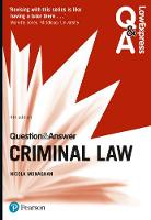 Law Express Question and Answer: Criminal Law