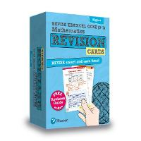 Pearson REVISE Edexcel GCSE (9-1) Maths Higher Revision Cards (with free online Revision Guide)