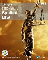 BTEC National Applied Law student book + Active book