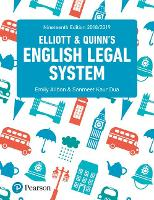 English Legal System (Paperback)