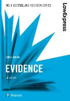Law Express: Evidence, 5th edition
