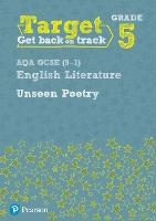 Target Grade 5 Unseen Poetry AQA GCSE (9-1) Eng Lit Workbook - Intervention English (Paperback)