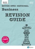 Revise BTEC National Business Revision Guide