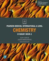 Pearson Edexcel International A Level Chemistry Student Book - Edexcel International A Level