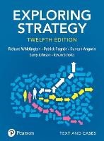 Exploring Strategy, Text and Cases (Paperback)