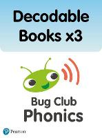 Bug Club Phonics Pack of Decodable Books x3 (3 x copies of 164 books) - Phonics Bug