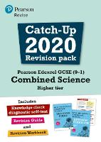 Pearson REVISE Edexcel GCSE (9-1) Combined Science Higher tier Catch-up Revision Pack: (with free diagnostic test) for home learning, 2021 assessments and 2022 exams - Revise Edexcel GCSE Science 16