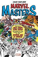 Color Your Own Marvel Masters (Paperback)