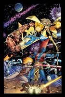 Guardians Of The Galaxy Classic By Jim Valentino Omnibus (Hardback)