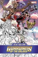Color Your Own Guardians Of The Galaxy (Paperback)