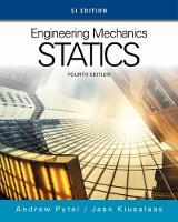 Engineering Mechanics: Statics, SI Edition (Paperback)
