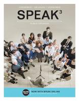 SPEAK (with Online, 1 term (6 months) Printed Access Card)