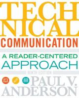 Technical Communication (Paperback)