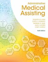 Administrative Medical Assisting (Hardback)
