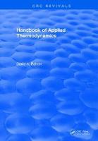 CRC Handbook of Applied Thermodynamics (Hardback)