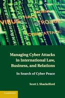 Managing Cyber Attacks in International Law, Business, and Relations: In Search of Cyber Peace (Paperback)