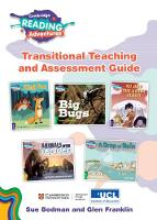 Cambridge Reading Adventures Green to White Bands Transitional Teaching and Assessment Guide - Cambridge Reading Adventures (Spiral bound)