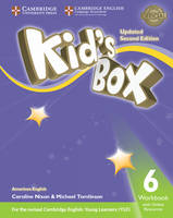 Kid's Box Level 6 Workbook with Online Resources American English
