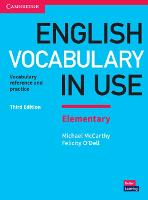 English Vocabulary in Use Elementary Book with Answers: Vocabulary Reference and Practice (Paperback)