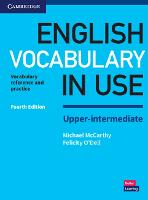 English Vocabulary in Use Upper-Intermediate Book with Answers: Vocabulary Reference and Practice (Paperback)