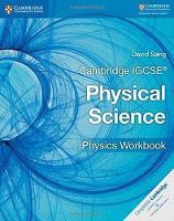 Cambridge IGCSE (R) Physical Science Physics Workbook - Cambridge International IGCSE (Paperback)