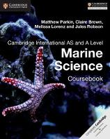 Cambridge International AS and A Level Marine Science Coursebook (Paperback)