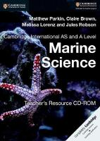 Cambridge International AS and A Level Marine Science Teacher's Resource CD-ROM (CD-ROM)