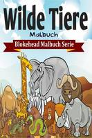 Wilde Tiere Malbuch (Paperback)